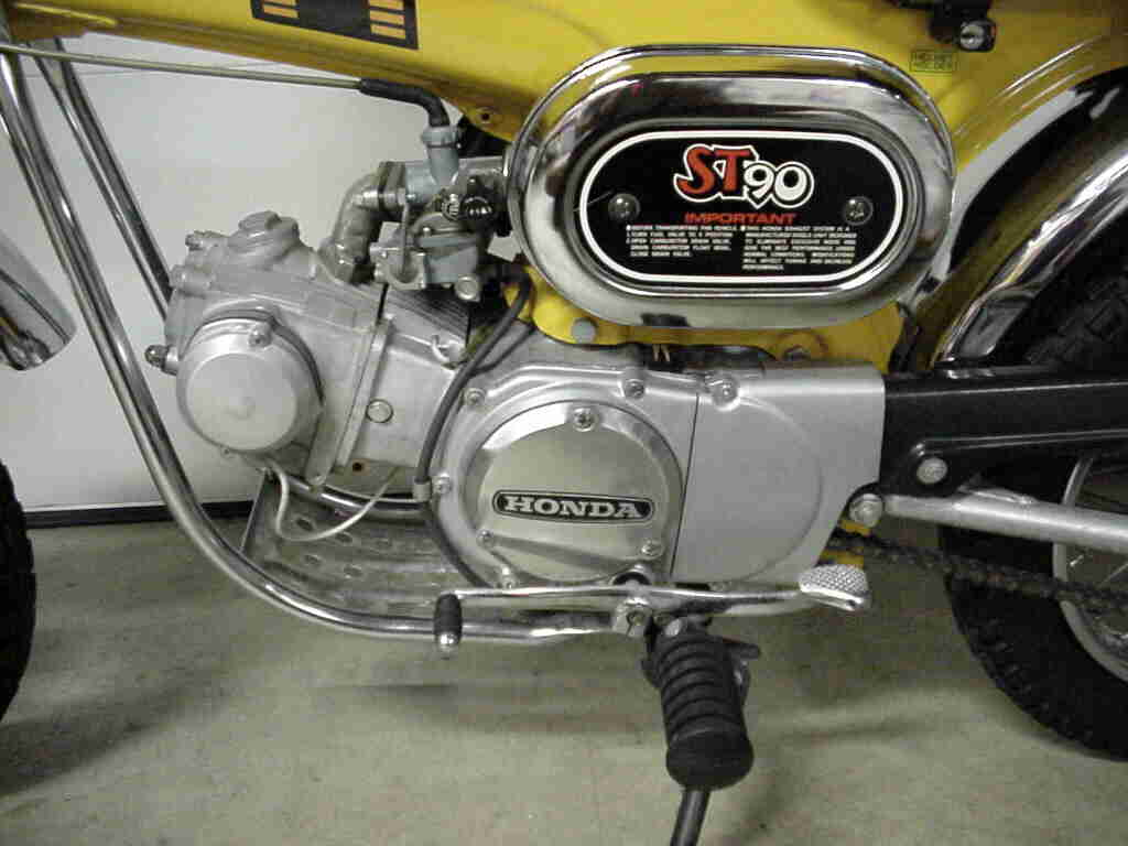 Page 3 Motor City Mini Trails 1970 Honda Ct70 Moped