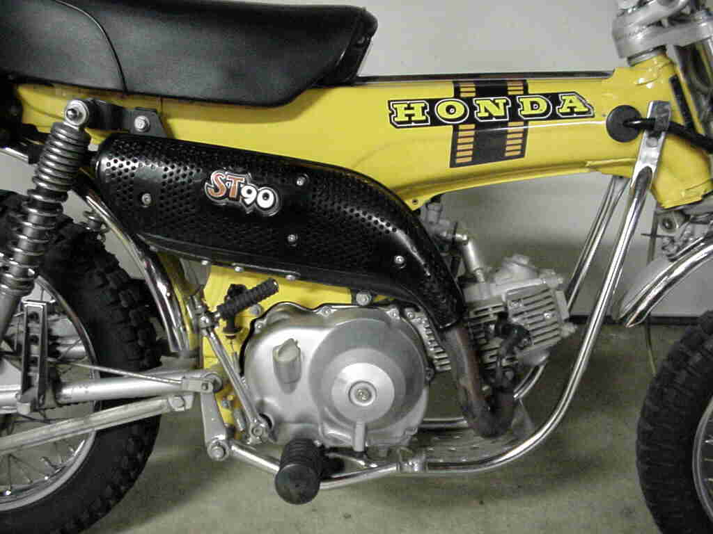 Page 3 Motor City Mini Trails 1970 Honda Ct70 Fuel Tank