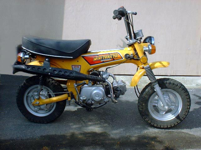 Honda ct70 trail 70 1970 parts in stock autos post for Honda in ct